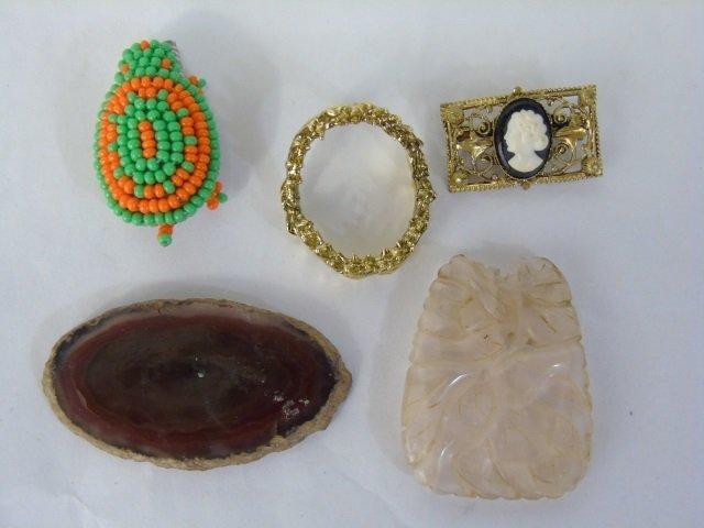 Box Lot Assorted Costume Jewelry & Treasure Chest - 8
