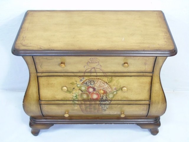 Contemporary Traditional Bombe Chest of Drawers - 2