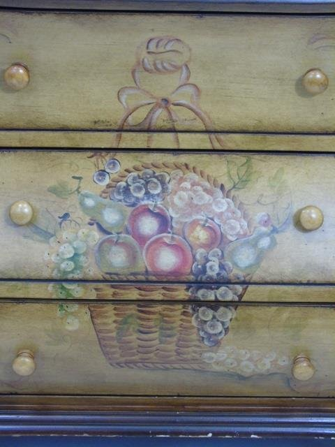 Contemporary Traditional Bombe Chest of Drawers - 3