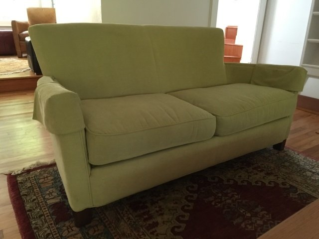 Contemporary Modern Curved Arm Sofa / Couch - 3