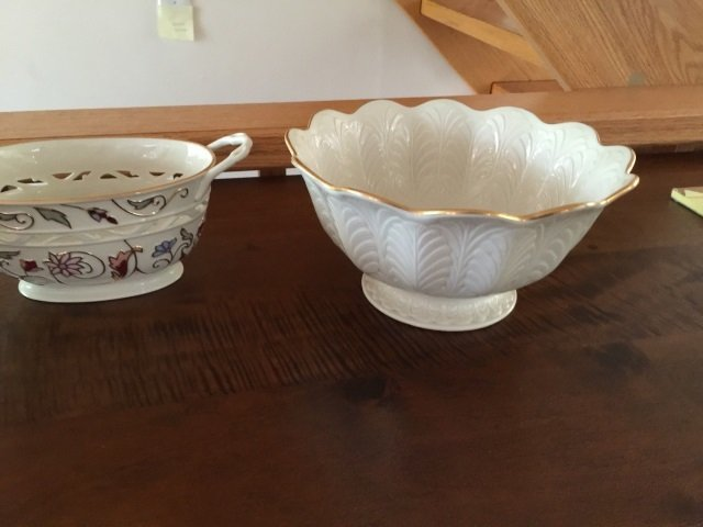 3 Large Serving Porcelain Serving Items by Lenox - 2