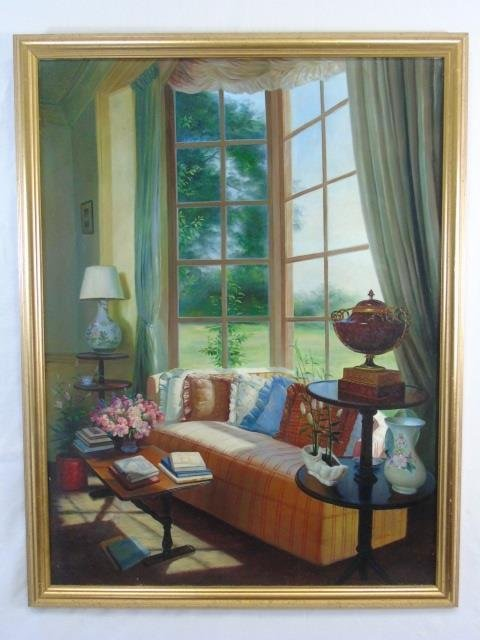 Julia - Interior Painting w/ Window