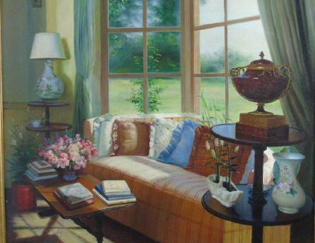Julia - Interior Painting w/ Window - 3