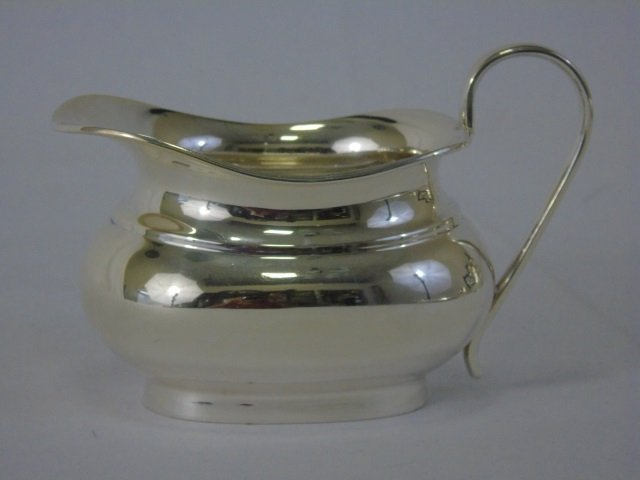 English Sterling Silver Four Piece Tea Coffee Set - 2
