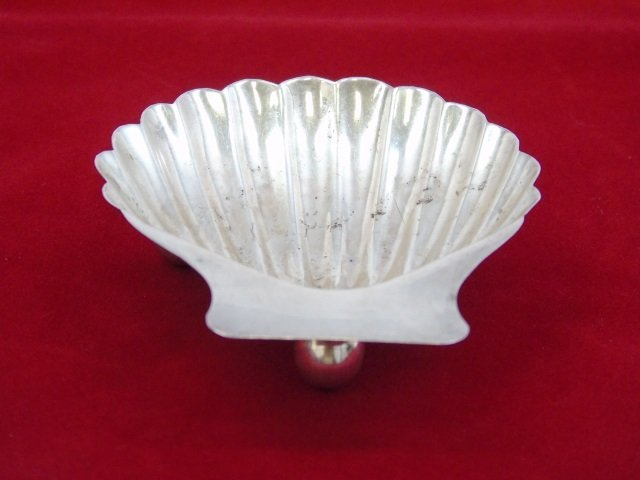 Set 4 Matched Taxco Eagle Sterling Silver Shells - 2