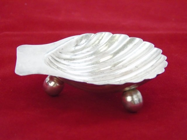 Set 4 Matched Taxco Eagle Sterling Silver Shells - 3