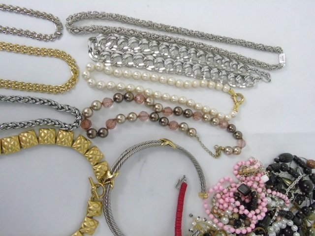 Large Group Lot of Vintage Costume Jewelry Items - 4
