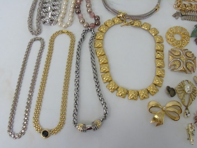 Large Group Lot of Vintage Costume Jewelry Items - 5
