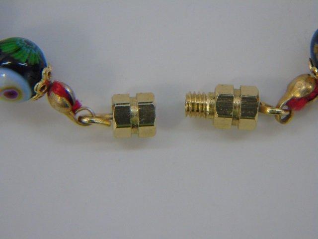 Vintage Italian Murano Glass Necklaces w Earrings - 6