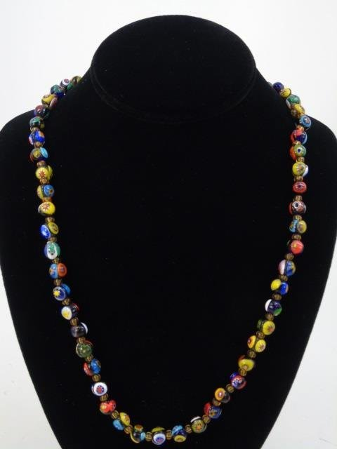 Vintage Italian Murano Glass Necklaces w Earrings - 7
