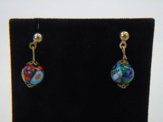 Vintage Italian Murano Glass Necklaces w Earrings - 8
