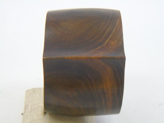 Contemporary Haitian Carved Wood Cuff & Ring - 5