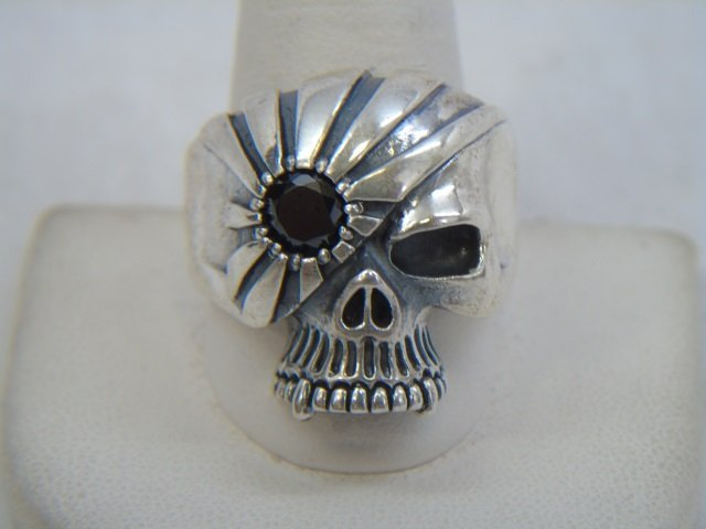 Contemporary Sterling Silver Skull Jewelry Items - 9