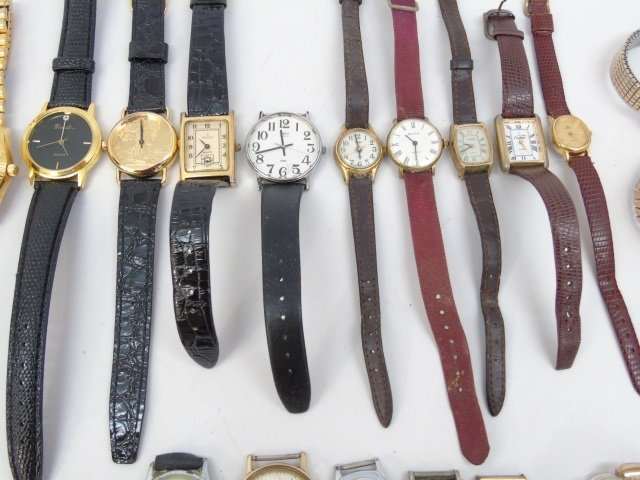 Estate Lot of 30 Vintage Wrist Watches - 10