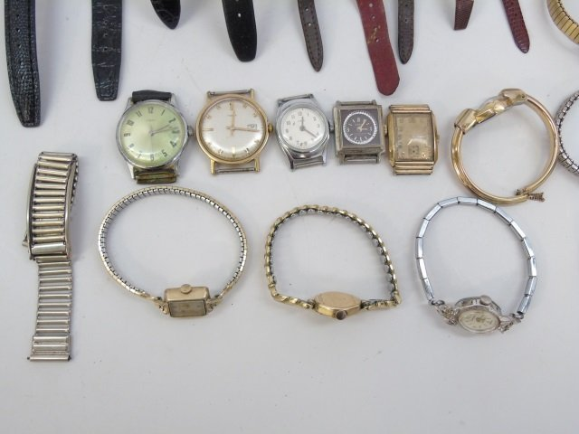 Estate Lot of 30 Vintage Wrist Watches - 4