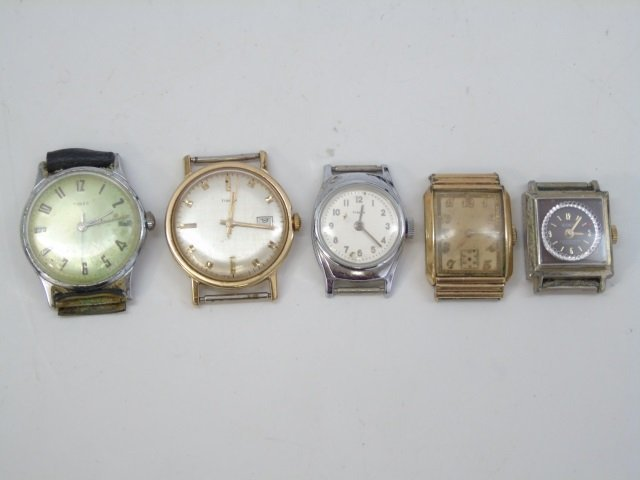 Estate Lot of 30 Vintage Wrist Watches - 9