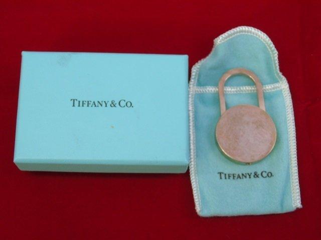 Tiffany & Co Silver Key Chain in Original Box