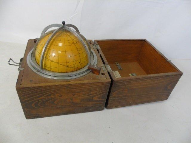 Russian Navigational Ship's Globe in Box - 2