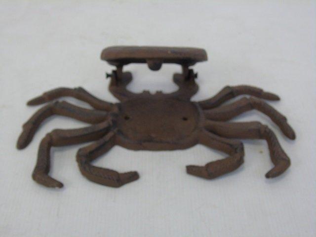 Three Hand Painted Metal Crab Motif Door Knockers - 2
