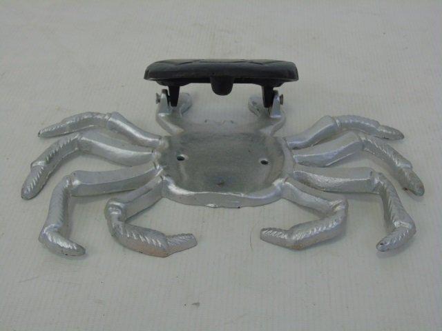 Three Hand Painted Metal Crab Motif Door Knockers - 6