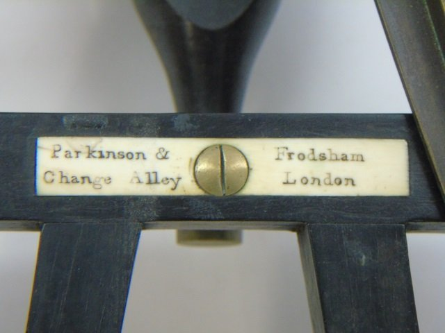 Antique Parkinson & Fordsham London Sextant - 3