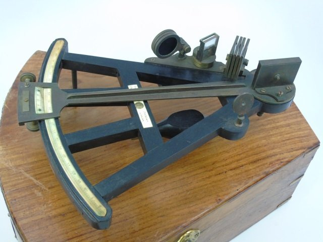 Antique Parkinson & Fordsham London Sextant - 5