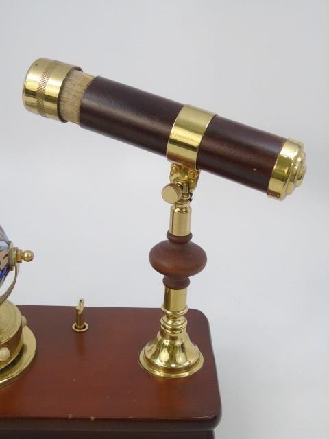 Nautical Theme Music Box w Kaleidoscope - 3