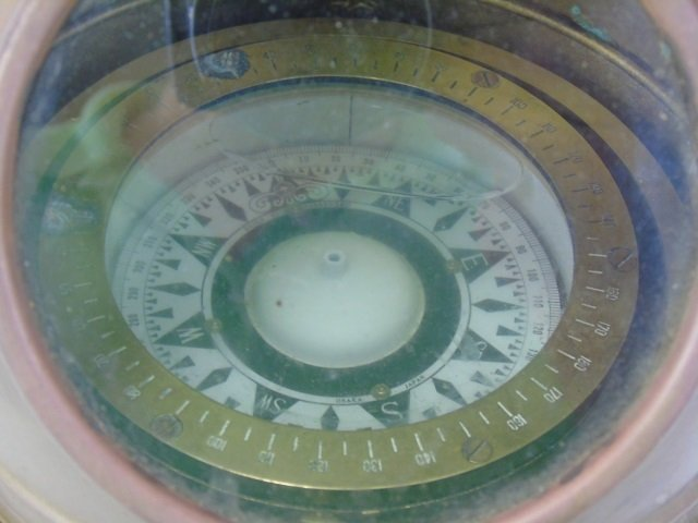 Vintage Daiko Osaka Japan Ship Navigation Compass - 2