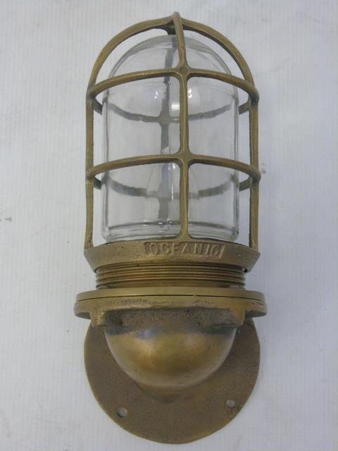 Four Vintage Oceanic Nautical / Ship Lanterns - 3