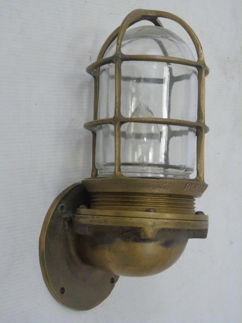 Four Vintage Oceanic Nautical / Ship Lanterns - 4