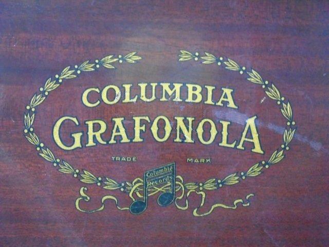 Vintage Carved Mahogany Gramophone Music Box - 4