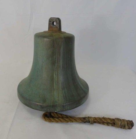 Heavy Cast Bronze Nautical / Ship Bell