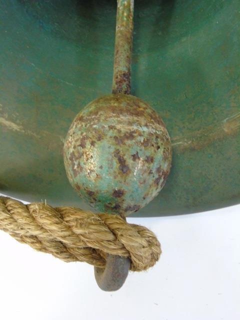 Heavy Cast Bronze Nautical / Ship Bell - 2