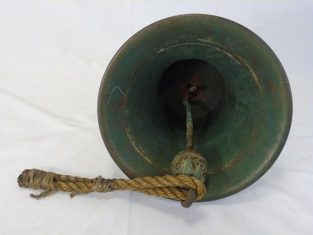 Heavy Cast Bronze Nautical / Ship Bell - 6