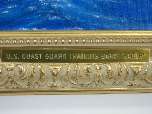 US Coastguard Training Bark Eagle Painting - 2