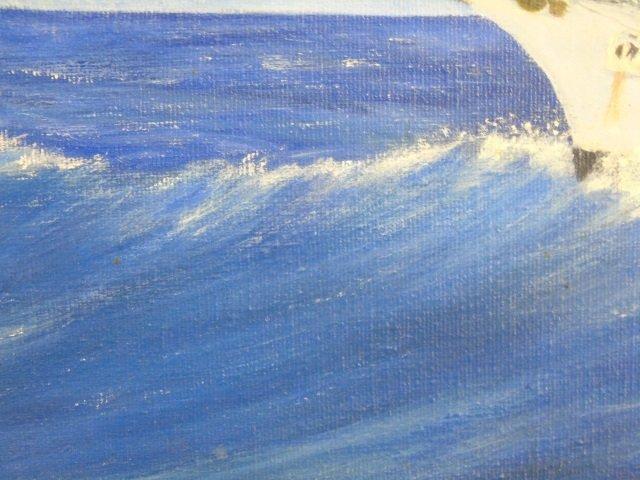 US Coastguard Training Bark Eagle Painting - 3