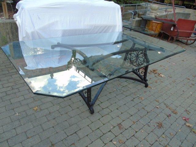 Brown Jordan Outdoor /  Scrollwork Dining Table - 3