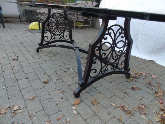 Brown Jordan Outdoor /  Scrollwork Dining Table - 5