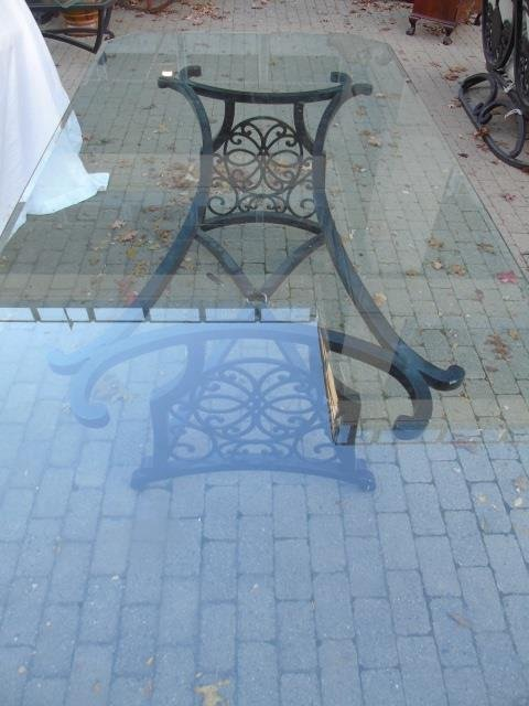 Brown Jordan Outdoor /  Scrollwork Dining Table - 6
