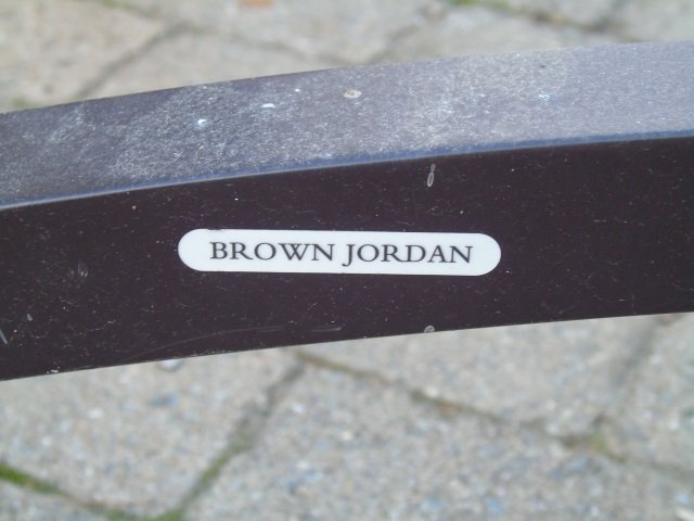 Brown Jordan Outdoor /  Scrollwork Dining Table - 7