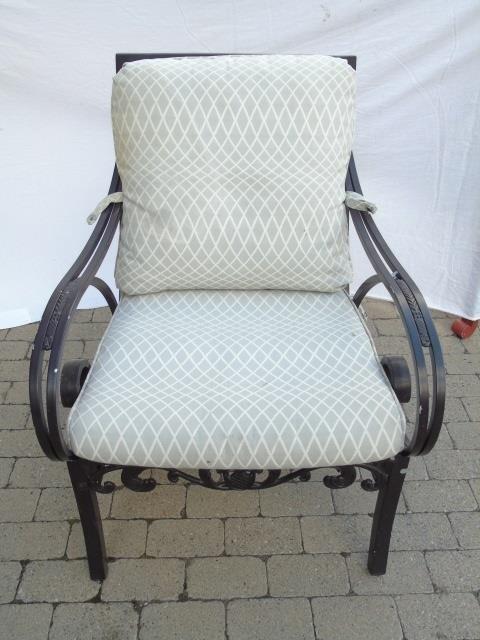 Brown Jordan Pineapple Motif Outdoor Dining Chairs - 2