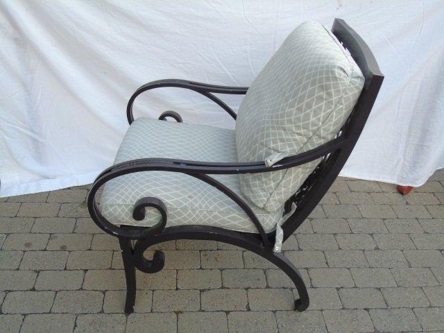 Brown Jordan Pineapple Motif Outdoor Dining Chairs - 3