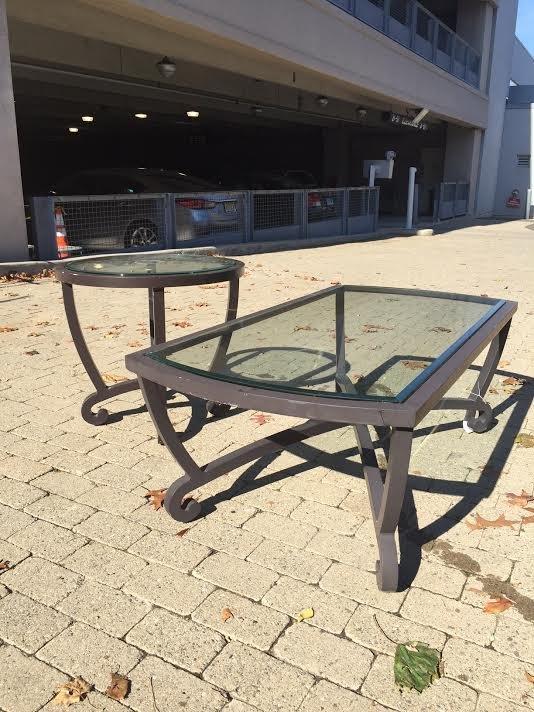 Brown Jordan Outdoor Coffee Table & End Table - 3