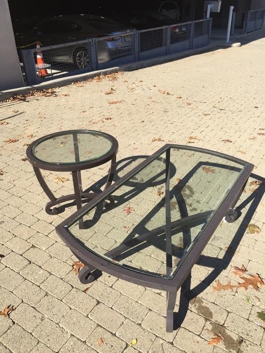 Brown Jordan Outdoor Coffee Table & End Table - 4