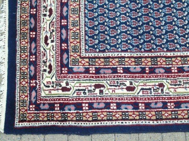 Contemporary Wool Blue Van Meeuwen Carpet - 2