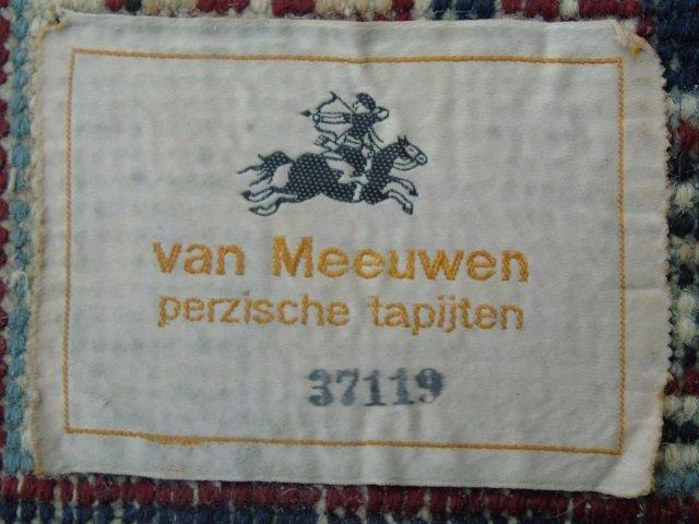 Contemporary Wool Blue Van Meeuwen Carpet - 3