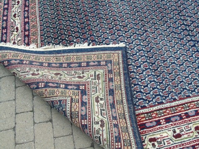 Contemporary Wool Blue Van Meeuwen Carpet - 4