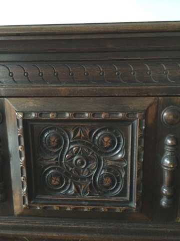 Antique Hathaway Furniture Jacobean Style Console - 7