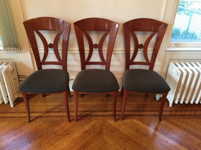 12 Contemporary Biedermeier Style Lacquer Chairs - 2