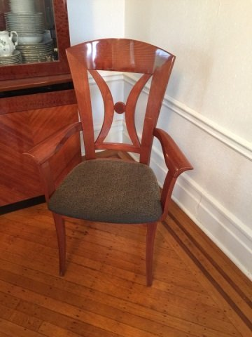 12 Contemporary Biedermeier Style Lacquer Chairs - 4